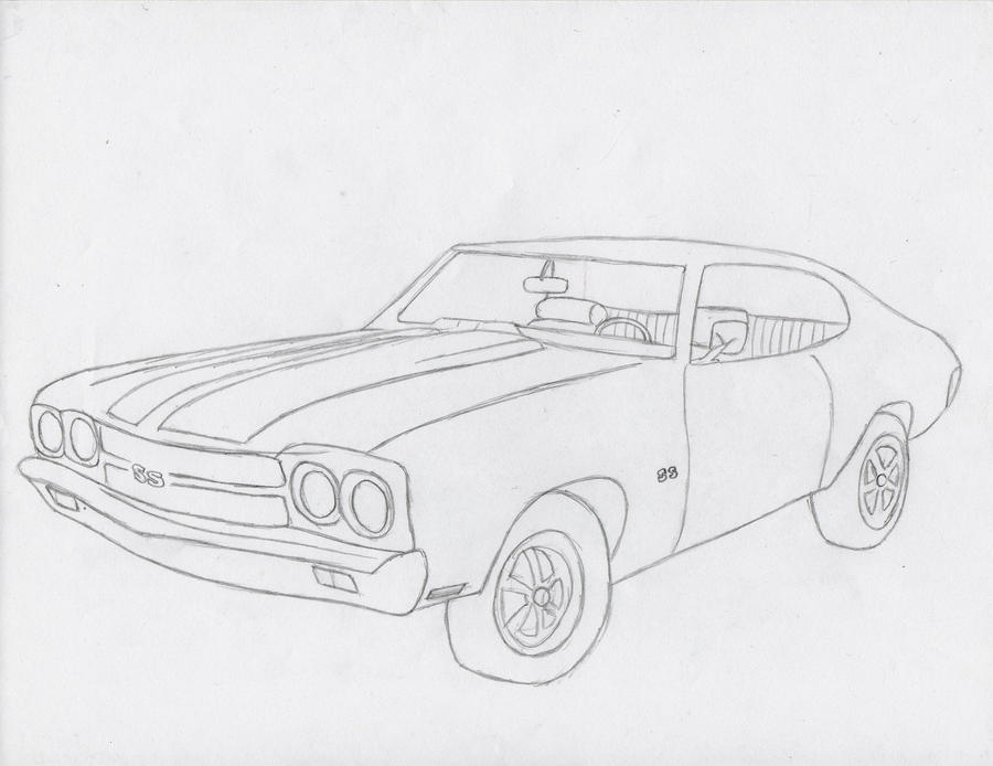 1970 chevelle ss  by roxybear147 on deviantart