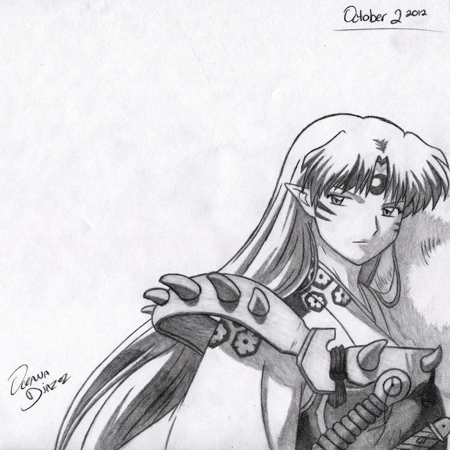 RQ: Sesshomaru by RoXyBeaR147