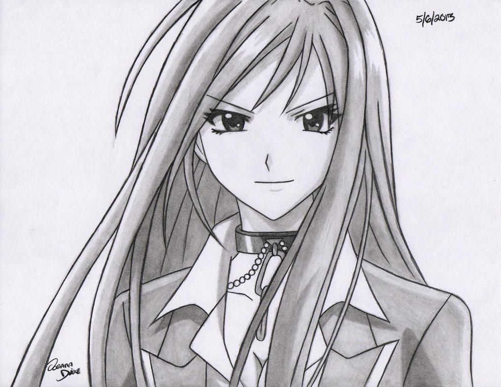 cute anime girl moka wallpaper - photo #47
