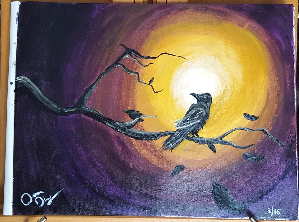 Spooky Raven by RoXyBeaR147