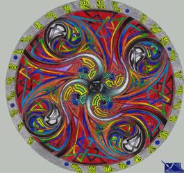 Celtic Mandala by BumwardoImortal