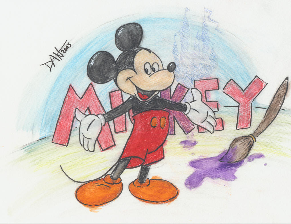 Mickey 2015 by JokerX2011
