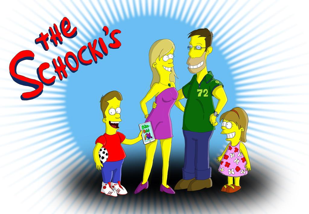 The Schocki's from Springfield! by JokerX2011