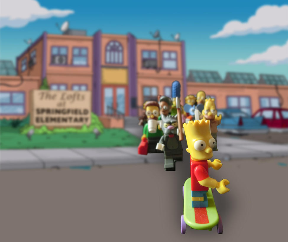 Hunting Bart by JokerX2011