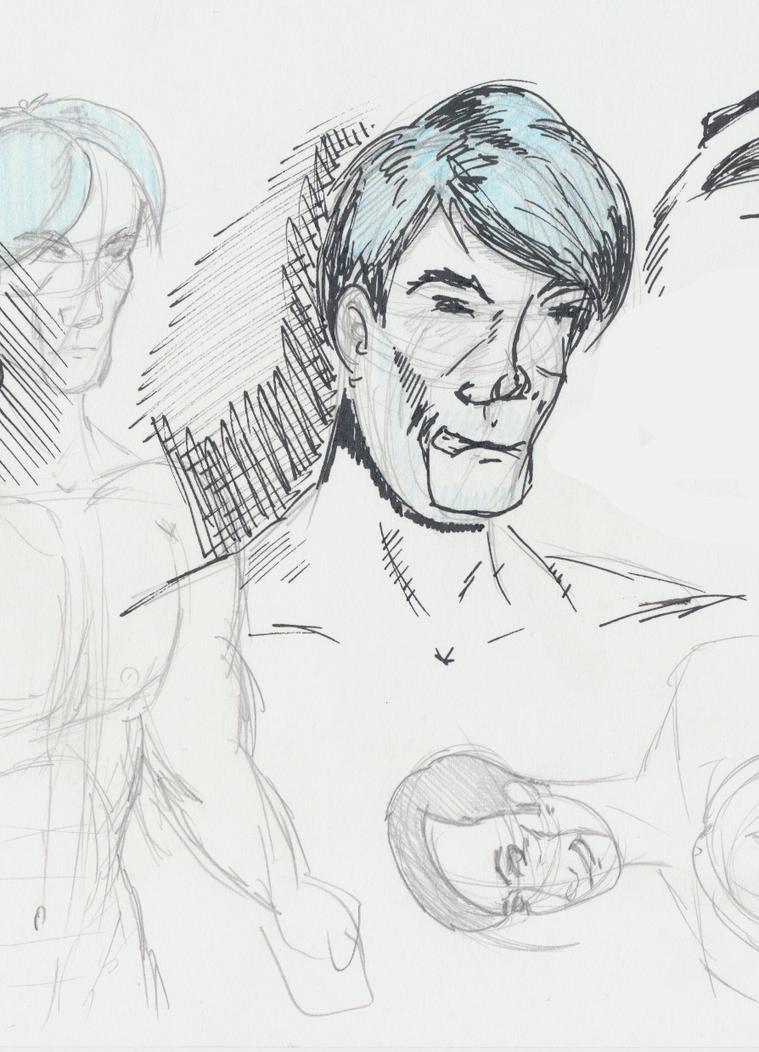 What a man... by JokerX2011