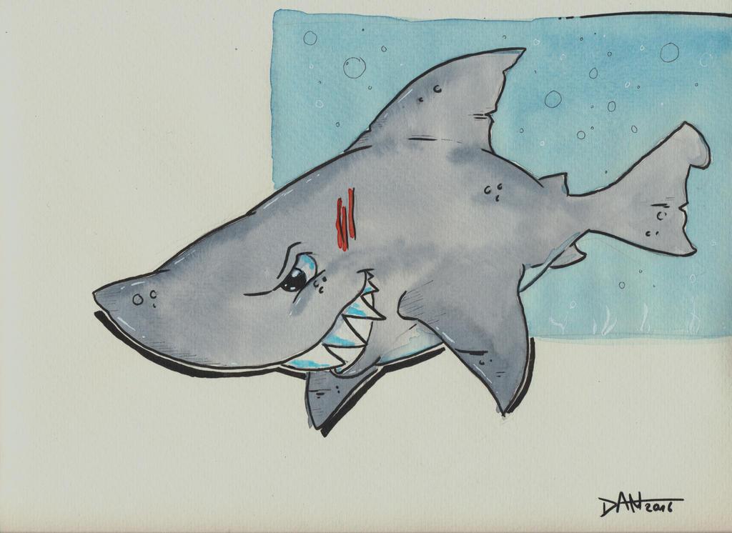 Fast as a Shark... by JokerX2011