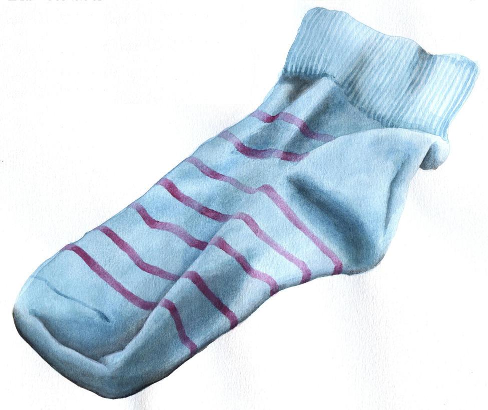 Socke by Fra-Ka
