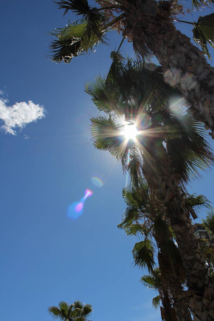 Barcelona sun by Fra-Ka
