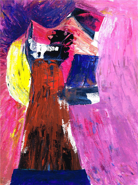 Portraet einer Frau by Fra-Ka