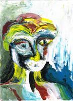 Unbekannte Frau by Fra-Ka
