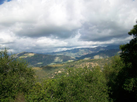 Clouds and hills