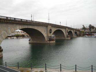London Bridge in Winter