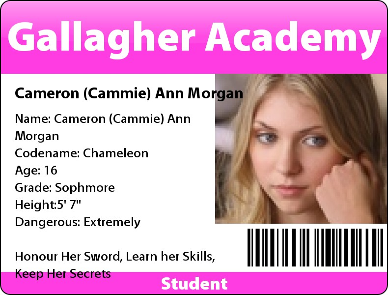 Cammie Morgan Id Badge By Steampunkedrp On Deviantart