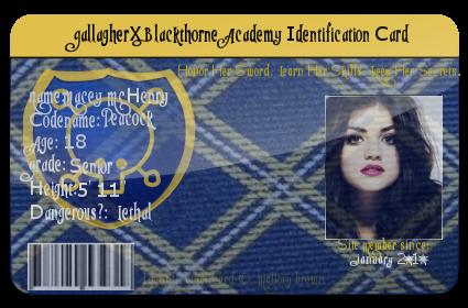 Macey McHenry GallagherxBlackthorne ID by SteampunkedRP
