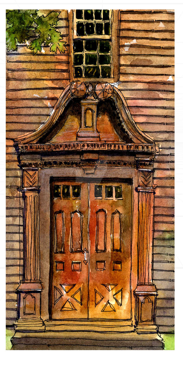 Ashley House Doorway by nash8808