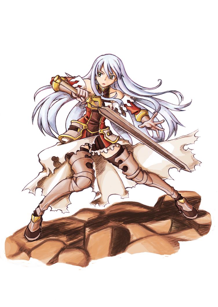 FEZ - Female Warrior by abyss-crimson
