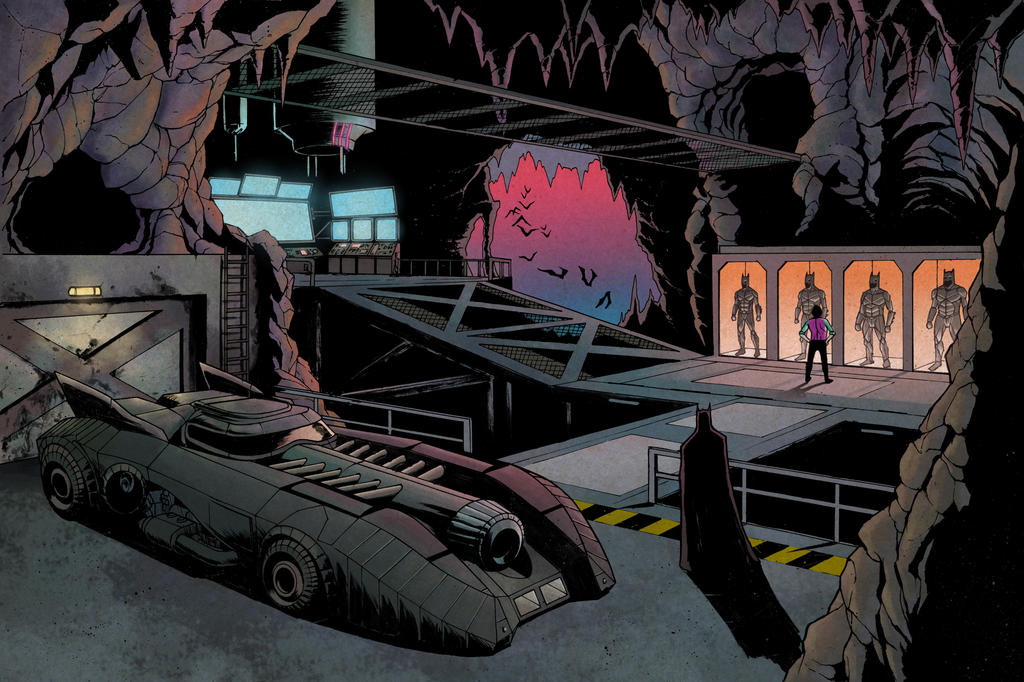 Batcave by JZINGERMAN