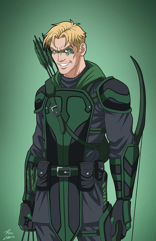 Green Arrow Pre-Suit Concept