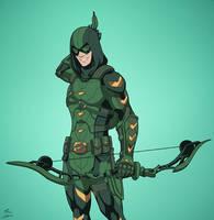 Connor Hawke - Green Arrow by DannyK999