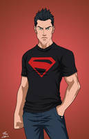 Superboy (Young Justice, Alt Hair) by DannyK999