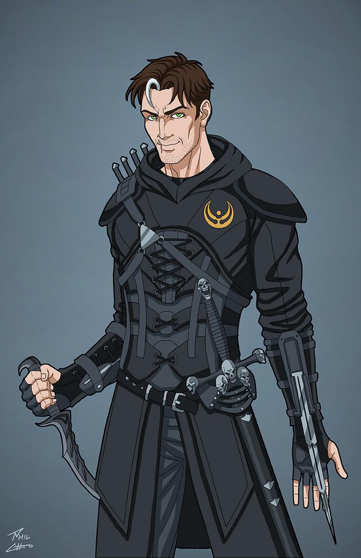 Lucien (League of Assassins Colors) by DannyK999