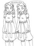 The Grady daughters from Shining by N8-11