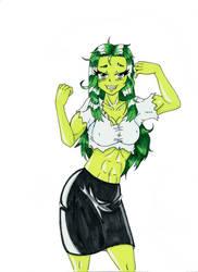 She-Hulk Colored