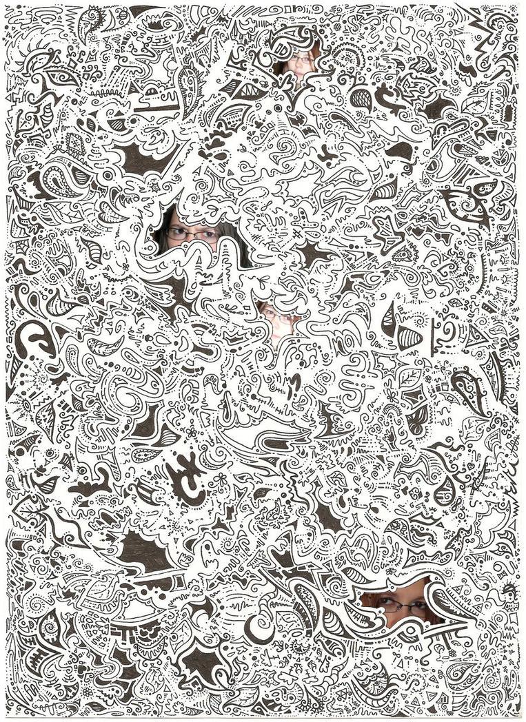 abstract shapehness by ushiyasha