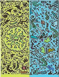 abstract Octo bic sticker by ushiyasha