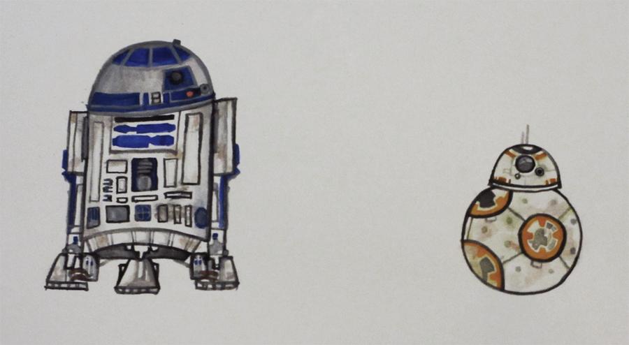 R2 and BB by ushiyasha
