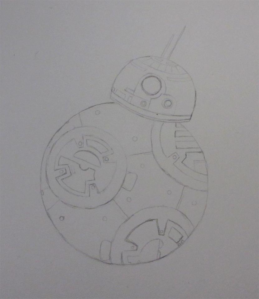 P1 BB8eth sketch by ushiyasha