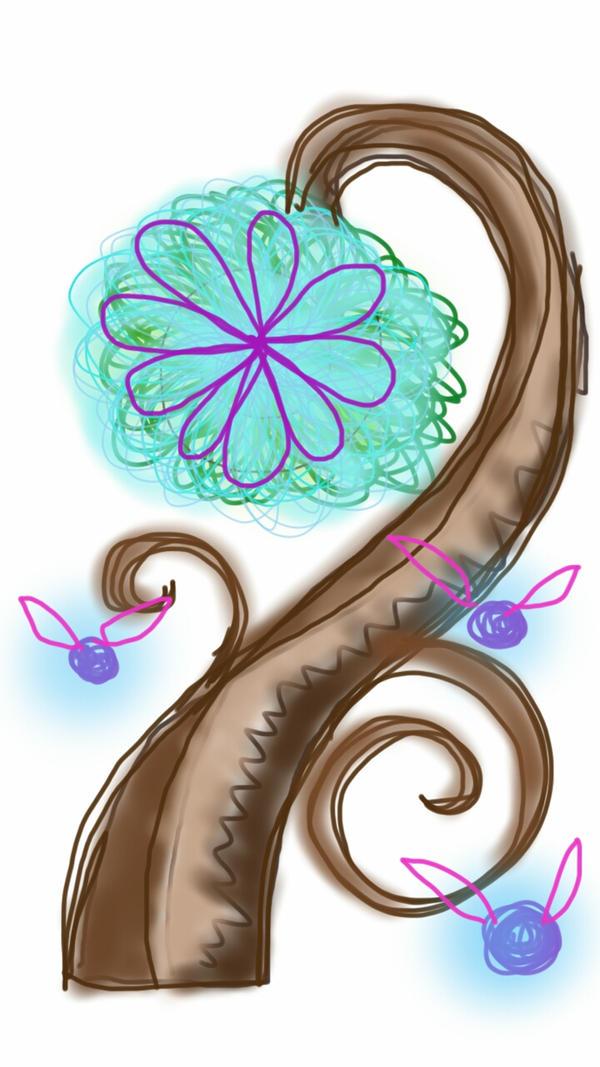 sprite tree by ushiyasha