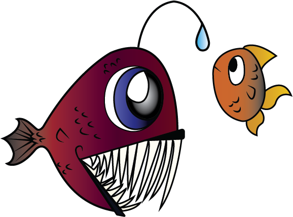 Angler fisheh by ushiyasha