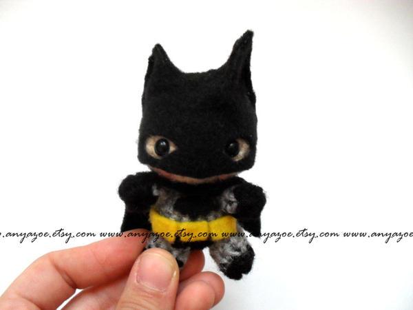 Batman Amigurumi by AnyaZoe