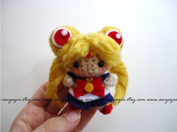 Sailor Moon Amigurumi Patron Gratis : Sailor Moon Amigurumi by AnyaZoe