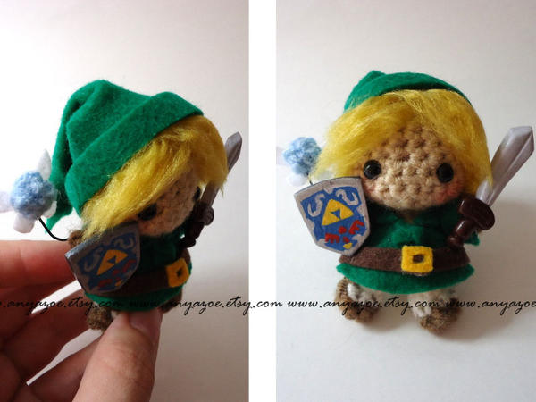 Link Amigurumi by AnyaZoe on DeviantArt