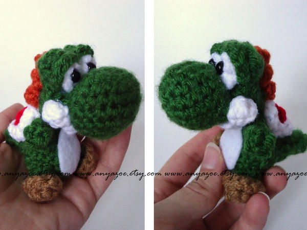 Crochet Patterns Yoshi : Yoshi Amigurumi by AnyaZoe on DeviantArt