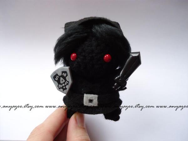 Dark Link Amigurumi by AnyaZoe