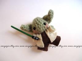 Yoda Amigurumi by AnyaZoe