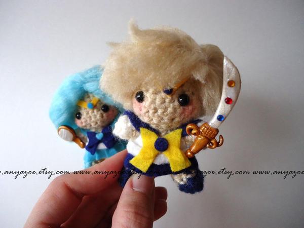 Sailor Uranus Amigurumi by AnyaZoe