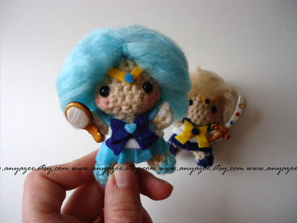 Sailor Neptune Amigurumi by AnyaZoe