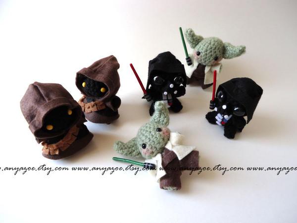 Star Wars Amigurumi Invasion by AnyaZoe