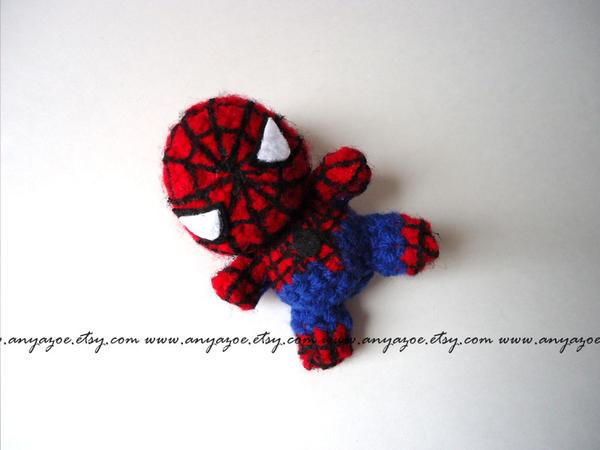 Free Amigurumi Spiderman Pattern : Spiderman Amigurumi by AnyaZoe on deviantART