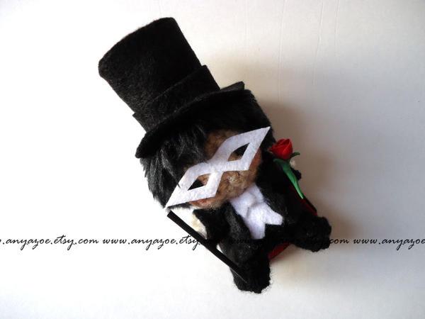 Tuxedo Mask Amigurumi by AnyaZoe