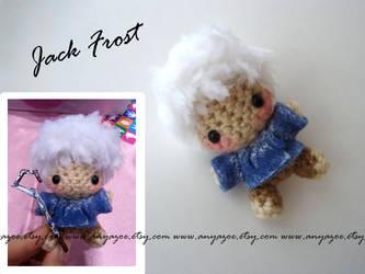 Jack Frost Amigurumi by AnyaZoe