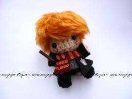 Ron Weasley Amigurumi by AnyaZoe