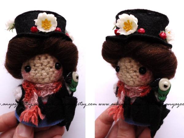 Mary Poppins Amigurumi by AnyaZoe