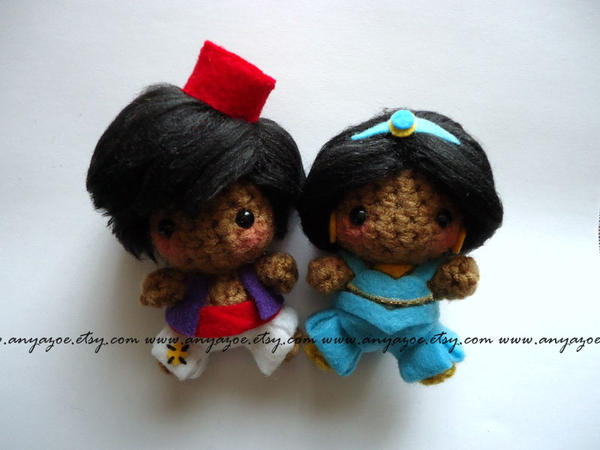 Amigurumi Join : Aladdin and Jasmine Amigurumi by AnyaZoe on DeviantArt