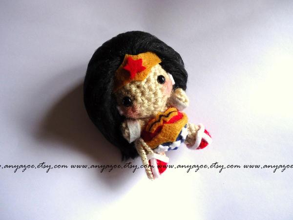 Amigurumi Wonder Woman : Wonder Woman Amigurumi by AnyaZoe on DeviantArt