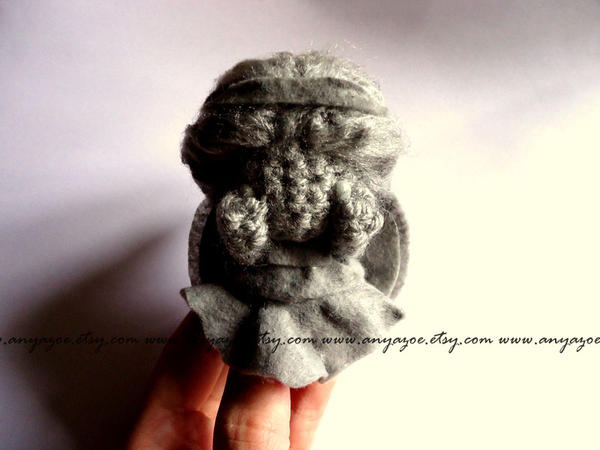 Amigurumi Weeping Angel Pattern : Weeping Angel Amigurumi by AnyaZoe on DeviantArt